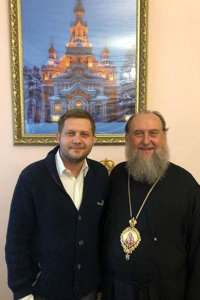 Все свободное время Борис уделяет общению с верующими и представителями православной церкви