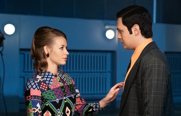 Светлана Устинова исполнила в сериале роль возлюбленной Магомаева, которую он бросает
