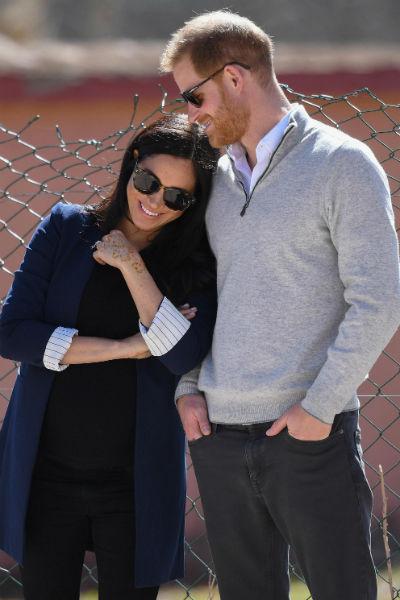 Меган и Гарри поженились в мае 2018 года