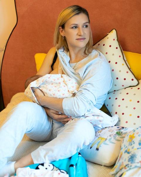 Татьяна Волосожар с сыном