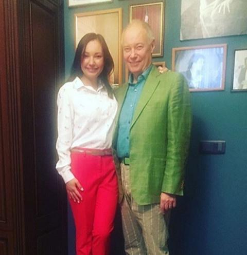 Владимир Конкин с дочерью Софией