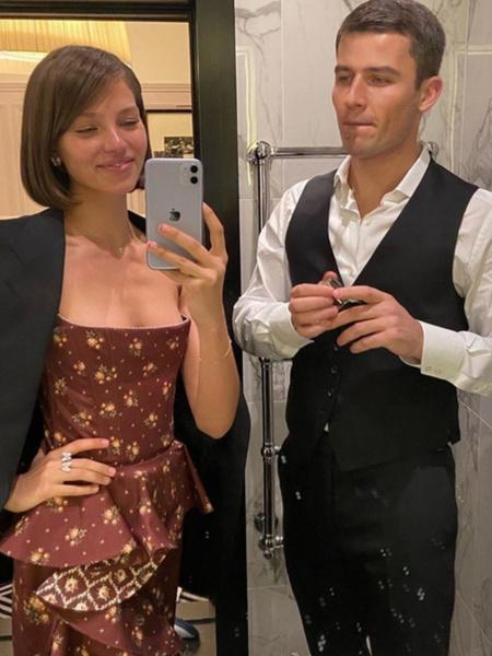 Первое фото Алеси Кафельниковой с бойфрендом — экс-женихом Светланы Ходченковой