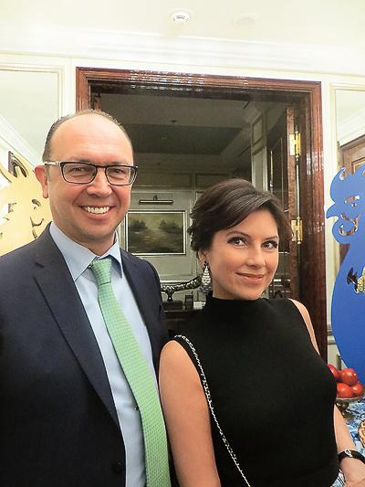 Андрей Шторх и Анна Павлова