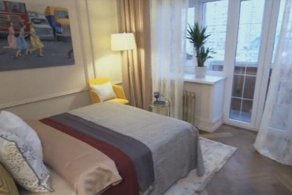 Спальня телеведущей преобразилась после ремонта