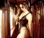 Наталья Орейро соблазнила пассажиров поезда