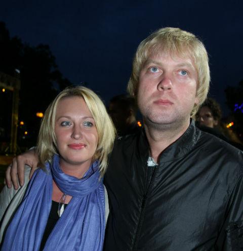 Сергей Светлаков с бывшей женой Юлией