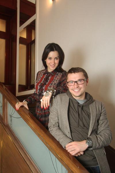 Тина Канделаки и ее супруг Василий Бровко