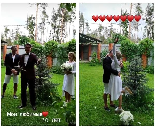 Родители Влада Соколовского сыграли свадьбу спустя 30 лет совместной жизни
