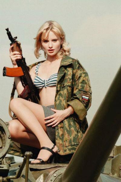 Дана Борисова в фотосессии для Playboy