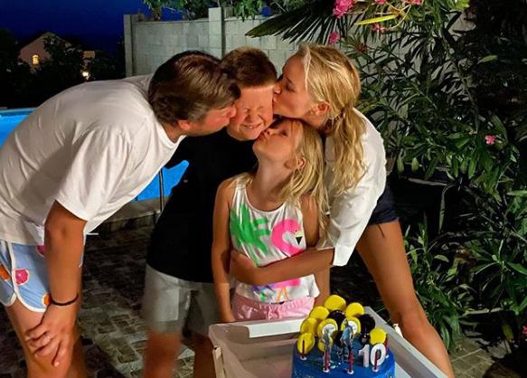 У Елены и Дмитрия двое детей