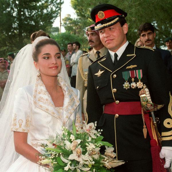 Рания Файсал аль-Ясин и Абдалла II