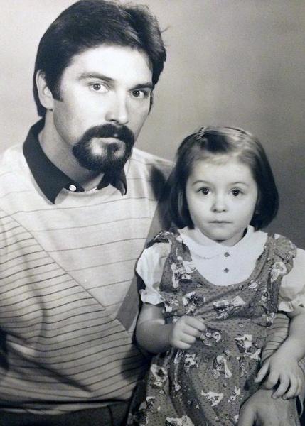 Мария Кравченко с папой
