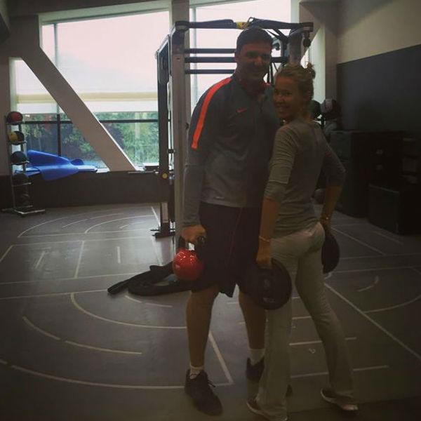 Ксения Собчак и Максим Виторган оба следят за своим питанием и регулярно занимаются спортом