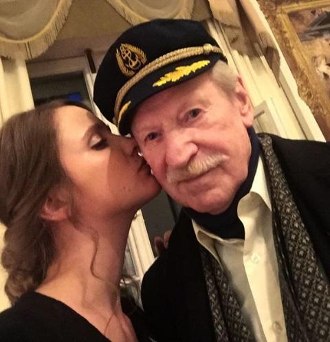 Иван Краско и его жена радуются пополнению в семье