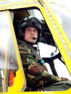 Елизавета II подарила принцу Уильяму вертолет