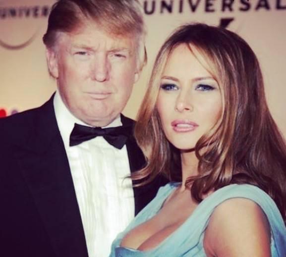 Роман Трампа и Мелании был очень бурным