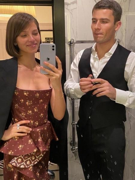Модель состоит в отношениях с экс-женихом Светланы Ходченковой