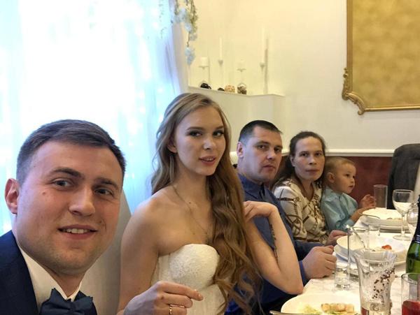 На свадьбу были приглашены только самые близкие