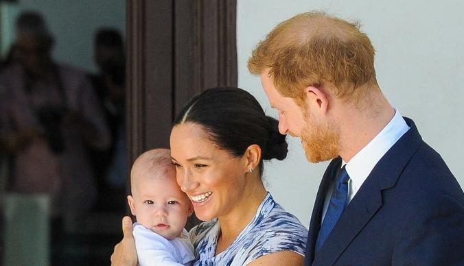 Без подарков и гостей: как прошел первый день рождения сына Меган Маркл и принца Гарри