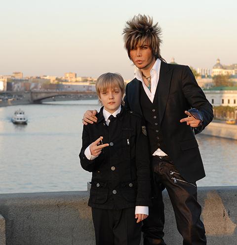 Сергей Зверев с сыном