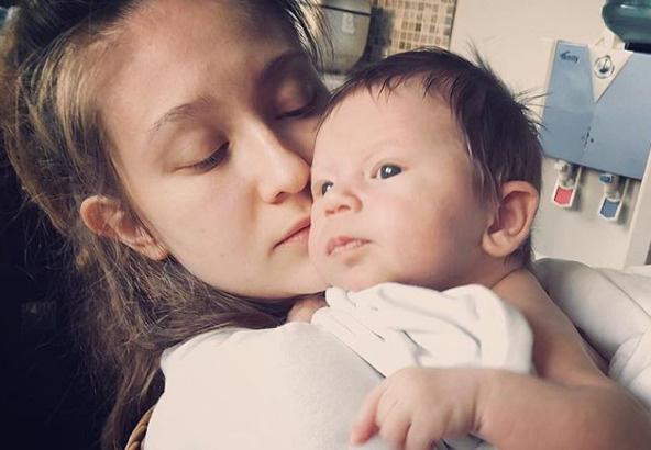 Яна со старшим сыном