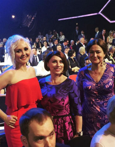 Василиса Володина и Роза Сябитова на премии ТЭФИ