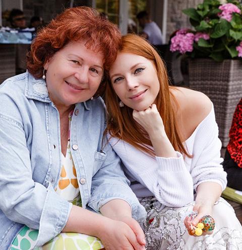 Наталья Подольская с мамой Ниной Антоновной