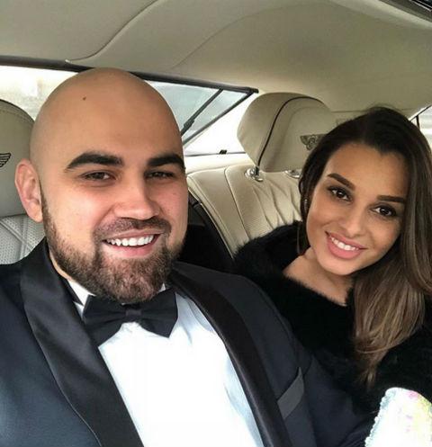 Артем Умрихин с женой Раминой