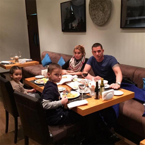 Ксения и Курбан много времени проводят со своими детьми
