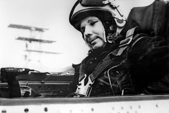 Гагарин погиб во время учебного полета
