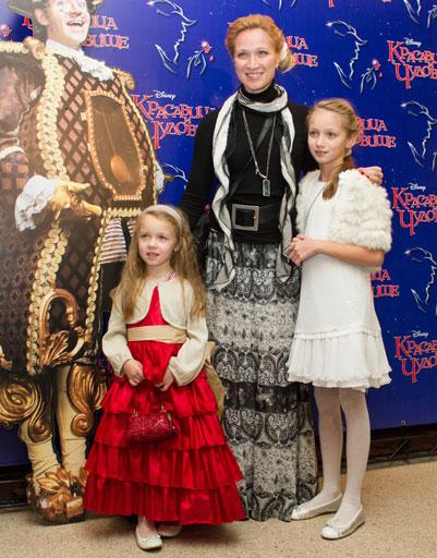 Мария Киселева с детьми