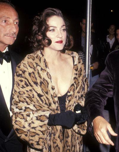 В начале карьеры Мадонна была брюнеткой, 1991 год