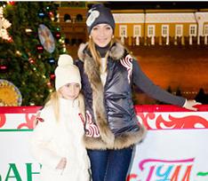Парный выход: Татьяна Навка с дочкой