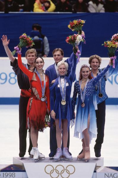 Грищук и Платов завоевали золото на Олимпиаде в Нагано