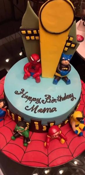Торт для модели от сына Даниэля