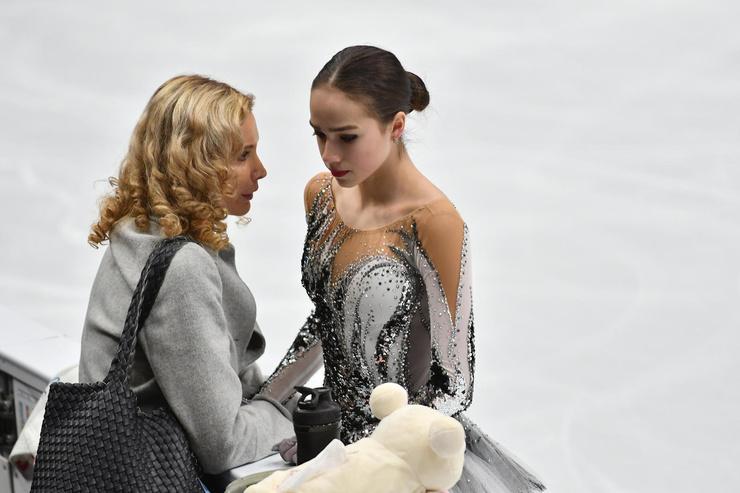 На Олимпиаде в 2018 году Медведева уступила золото Загитовой