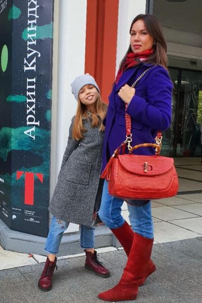 Оксана одна воспитывает дочь от футболиста