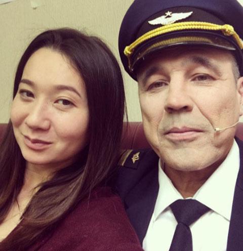 Дмитрий Соколов и его супруга Ксения Ли