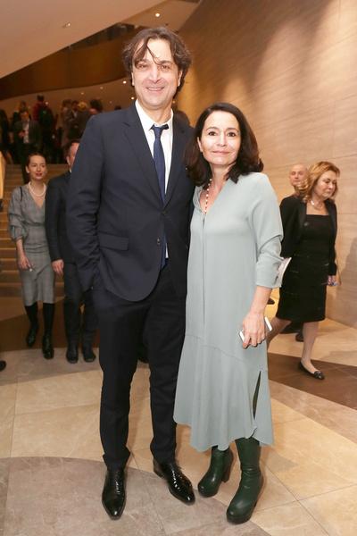 Александр-Лазарев с супругой Алиной