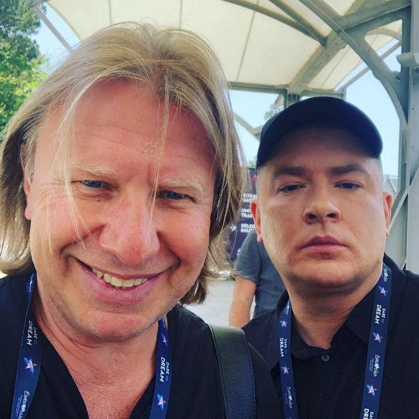 Виктор Дробыш и Андрей Данилко в Тель-Авиве