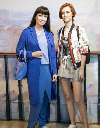 Нонна Гришаева с дочкой