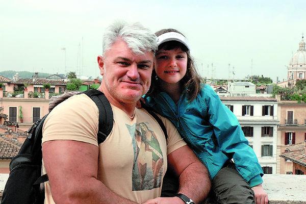 Владимир Турчинский с дочерью