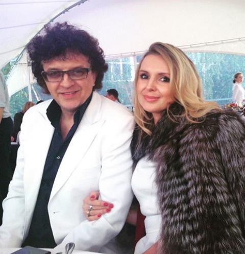 Рома Жуков с женой Еленой