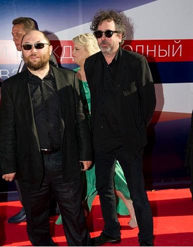 Тимур Бекмамбетов и Тим Бертон