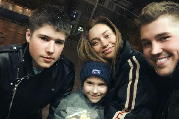 Евгения сразу нашла общий язык с братьями Гриценко