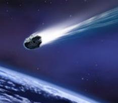 Звезды обсудили упавший метеорит