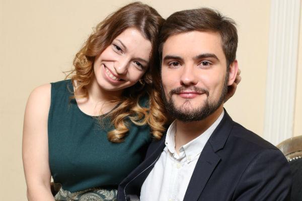 Ксения и Андрей поженились совсем недавно