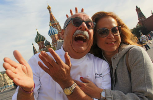 Азалия и Серджио Дондоли