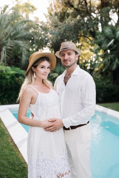 Совсем скоро Алина и Томас станут родителями