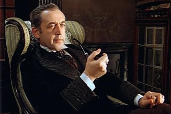 Самым знаменитым персонажем Василия Ливанова стал Шерлок Холмс